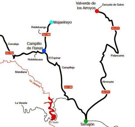 Mapa Pueblos Negros
