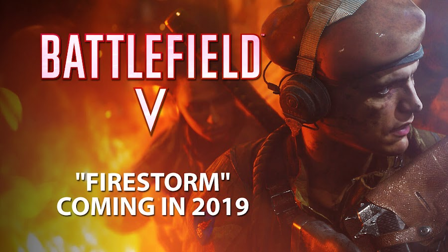 battlefield 5 firestorm battle royale 2019