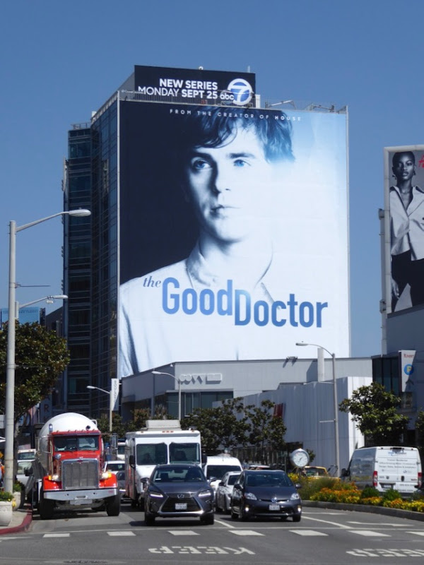 Good Doctor TV billboard