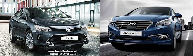 Chọn Camry 2015 hay Sonata 2015 ?