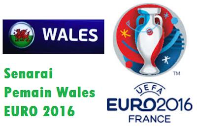 skuad Pemain Wales EURO 2016