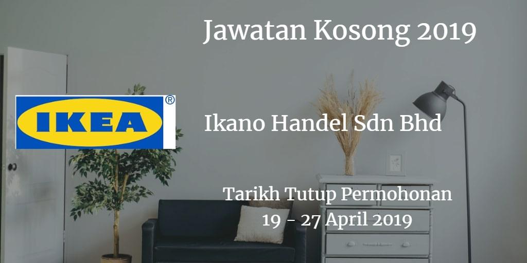 Jawatan Kosong IKEA 19 - 27 April 2019