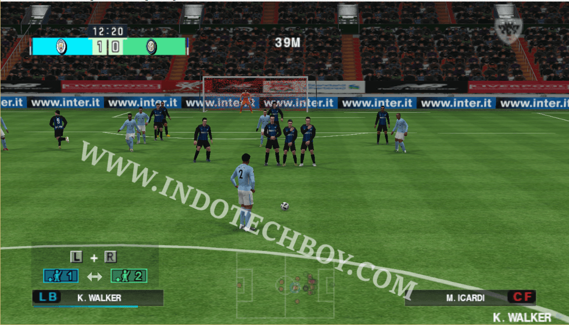Extra Wide (Far) Camera Angle Mod for PES 2018 Chelito 19 v4 PSP