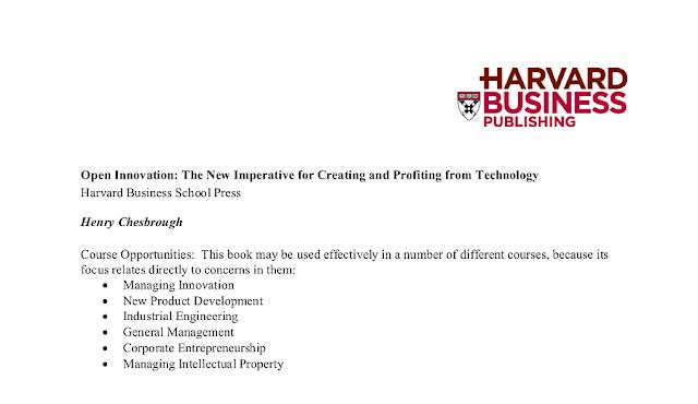 Nhà in Trường Kinh doanh Harvard giới thiệu khóa học dựa vào nội dung sách: 'Cách tân Mở - Sự cấp bách mới để Tạo ra và Hưởng lợi từ Công nghệ' của Henry Chesbrough