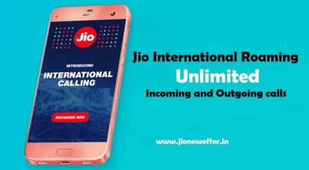 Jio International Roaming