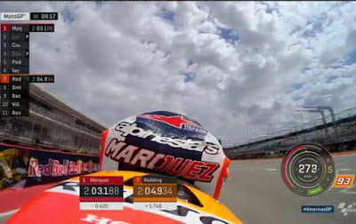 Marquez Raih Pole GP Amerika Dikawal Duo Yamaha