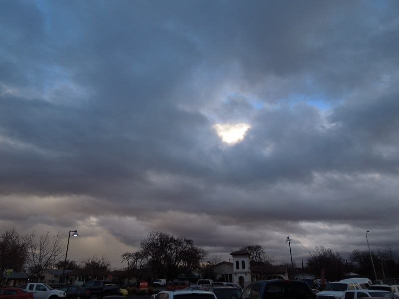 JUts the Sky -Sky View from Smart & Final Parking Lot in Paso Robles,© B. Radisavljevic