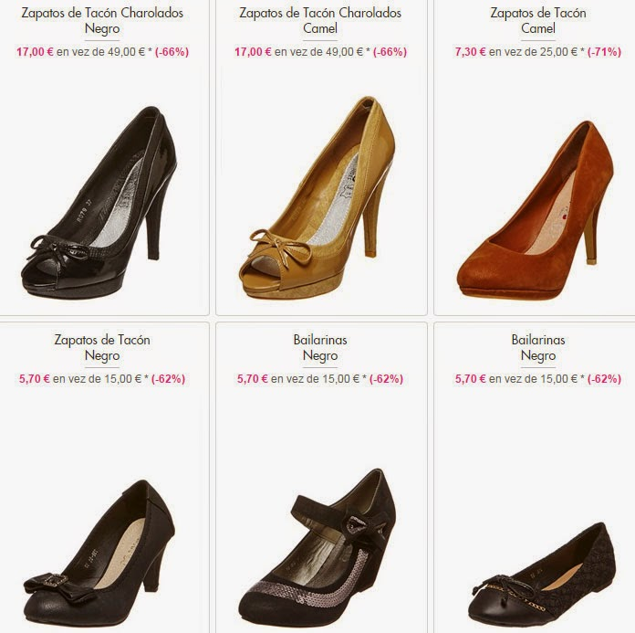 Zapatos bailarinas baratos