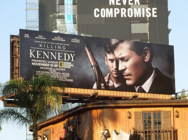 Killing Kennedy TV billboard