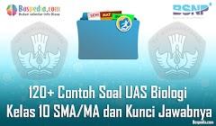 Lengkap - 120+ Contoh Soal UAS Biologi Kelas 10 SMA/MA dan Kunci Jawabnya Terbaru
