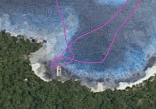 Auch Google Earth irrt sich manchmal