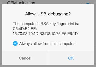 Mengaktifkan USB Debugging Xiaomi