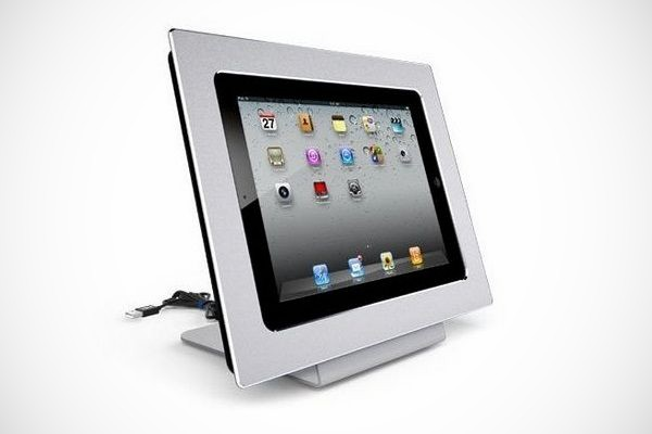 miframe picture frame docking station for ipad 2 bonjourlife. Black Bedroom Furniture Sets. Home Design Ideas