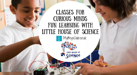 Fun STEM learning with Little House of Science (AD)