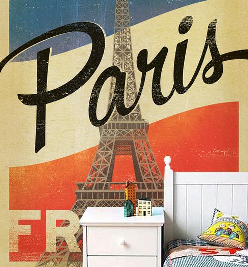 Pariisi Tapetti Paris Kaupunki Valokuvatapetti