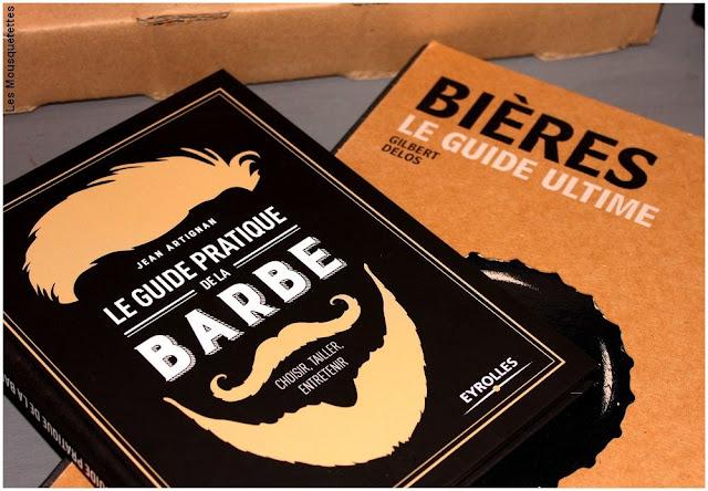 Livres Guide pratique de la Barbe et Guide Ultime Bières - Idées cadeaux hommes pour Noël - Blog