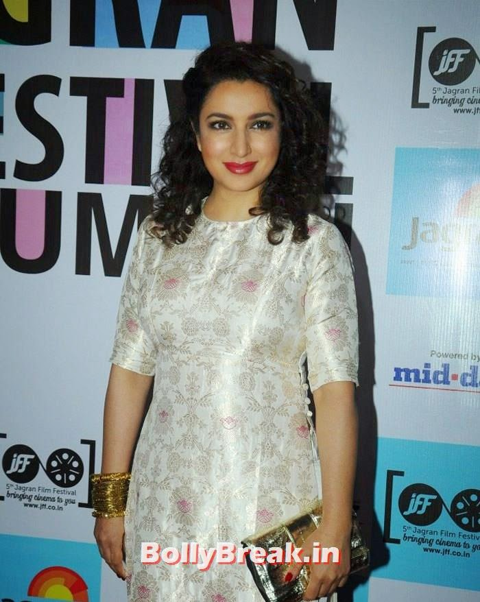 Tisca Chopra, 5th Jagran Film Festival Red Carpet Pics