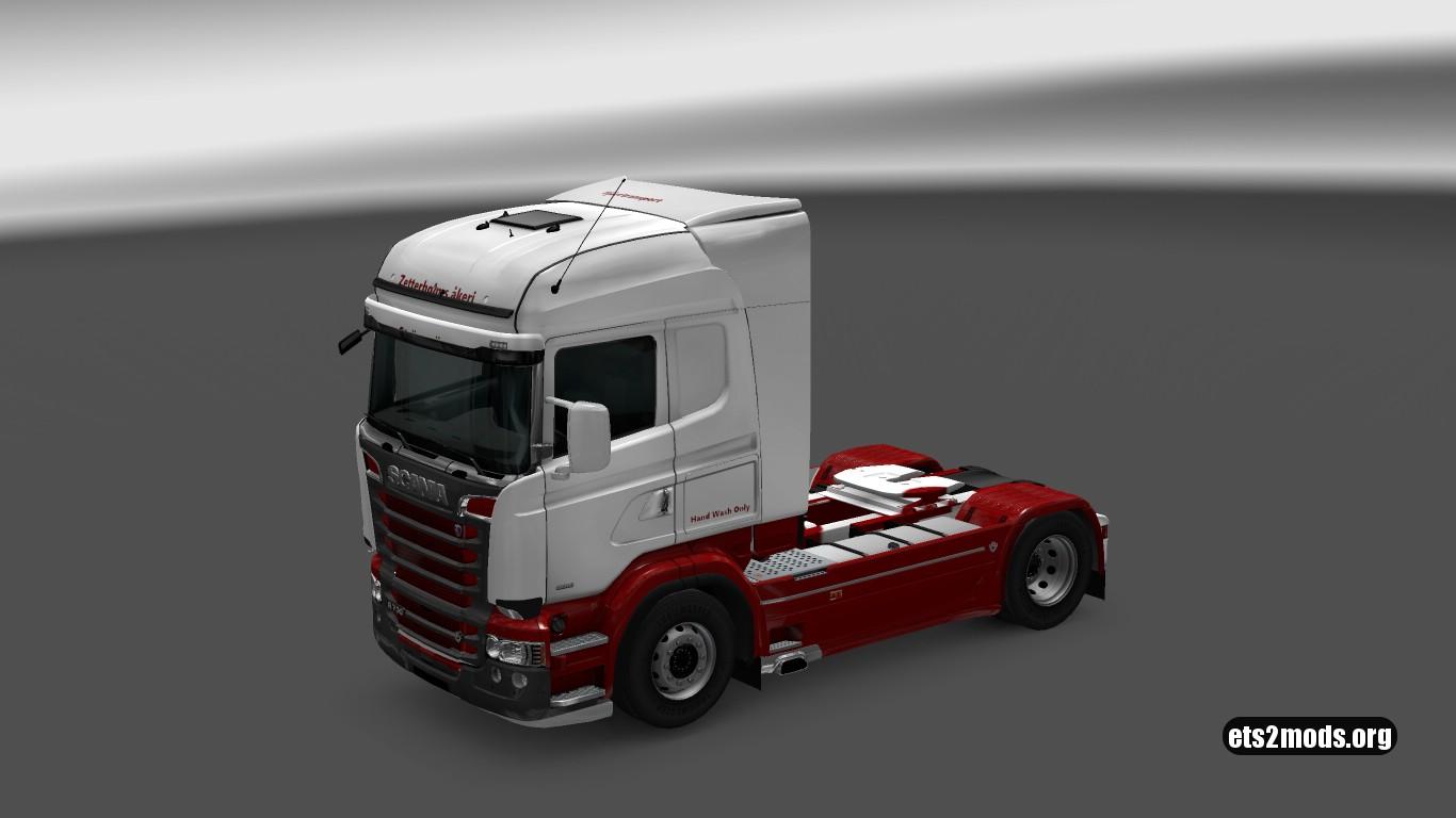 Scania RJL Swedish Skin