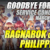 Ragnarok Online Philippines, Goodbye Forever, Service Concluded