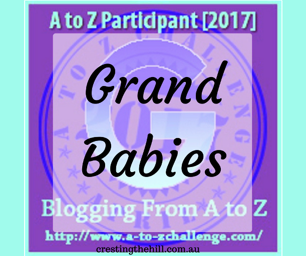 The A-Z Challenge ~ Why Midlife's Fabulous ~ Gorgeous Grandbabies