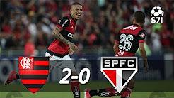 Flamengo 2 x 0 São Paulo - Melhores Momentos (COMPLETO) Campeonato Brasileiro 2017  (COMPLETO) Campeonato Brasileiro 2017