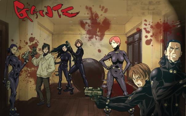 Gantz - Daftar Anime Gore Terbaik