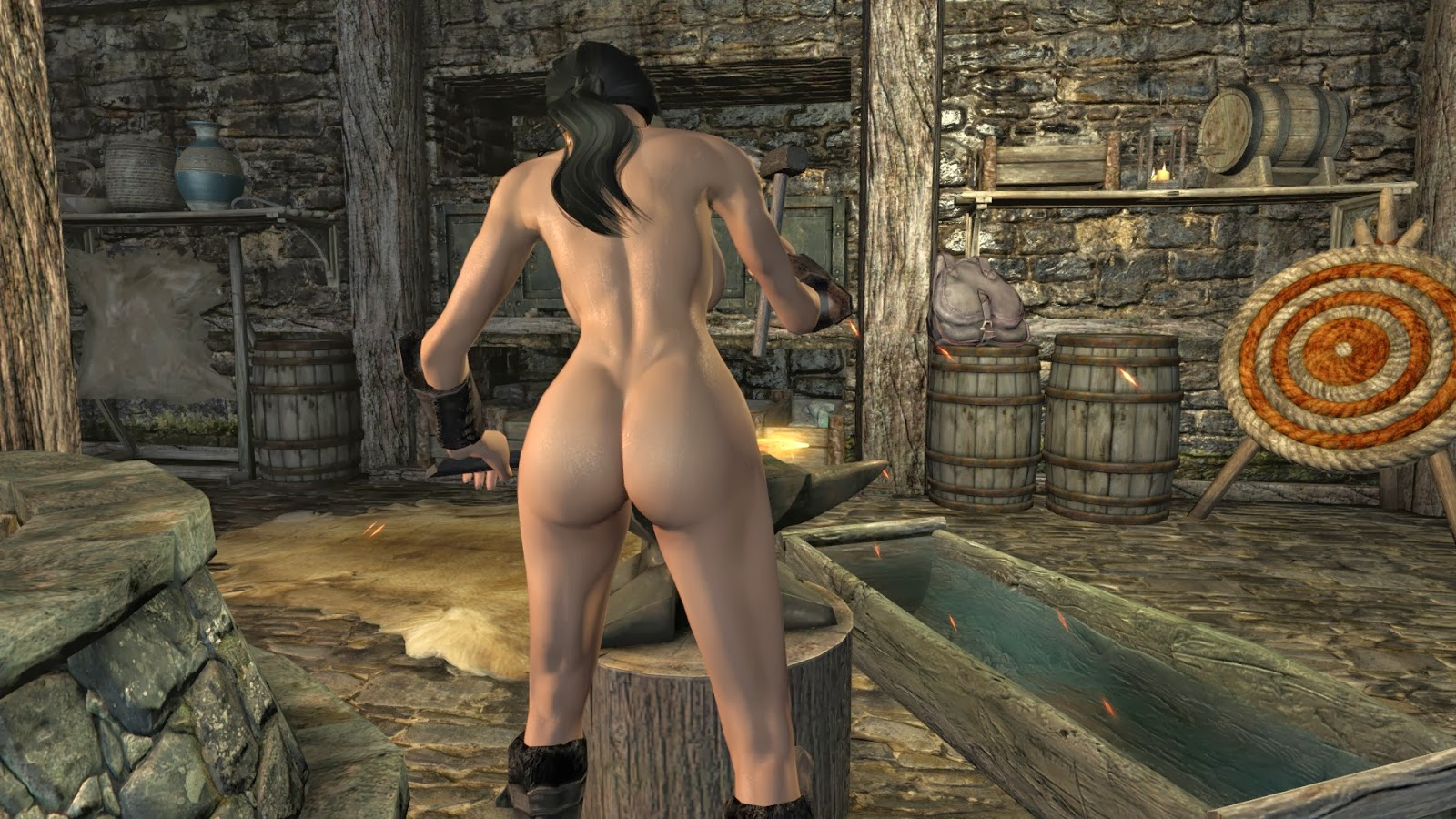 Calientes Female Body Mod Big Bottom Edition 19