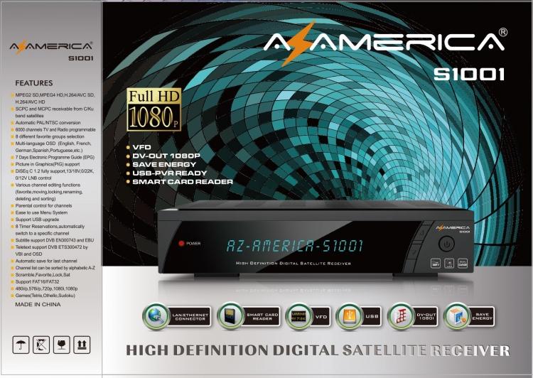 AZAMERICA S1001 - FOTOS DIFERENCIANDO CLONE E ORIGINAL | MESTRE DO AZ