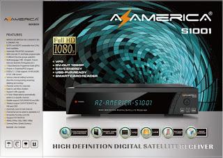 como atualizar o firmware do azamerica s1001
