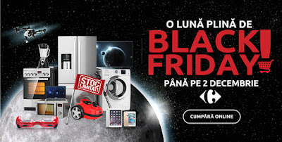 Carrefour Black Friday Noembrie 2018