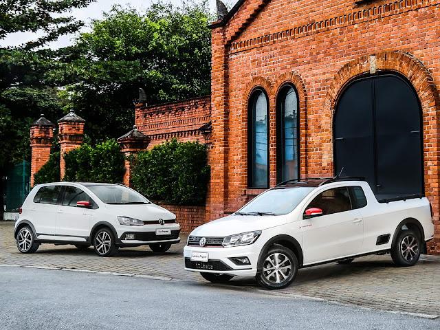 VW Saveiro, Up! e Fox ganham versão Pepper