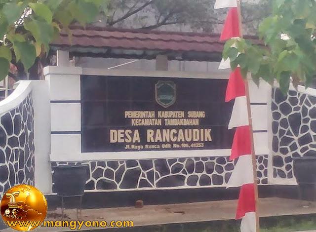 Desa Rancaudik, Kecamatan Tambakdahan. Poto Jepretan kang Ian Susanto Facebooker Subang ( FBS )