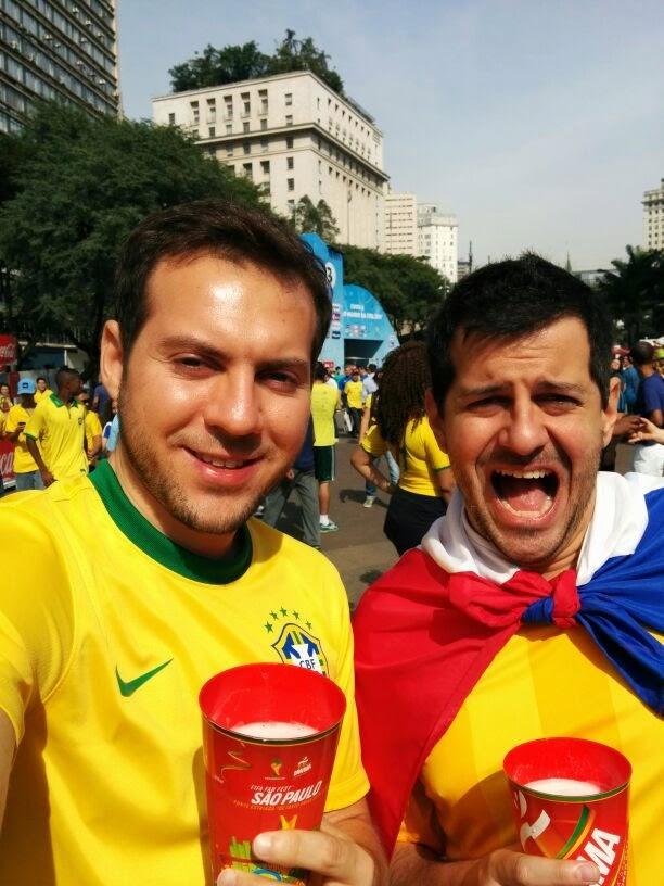 Fifa Fan Fest - São Paulo - Copa do Mundo Brasil 2014 - Brasil X Chile