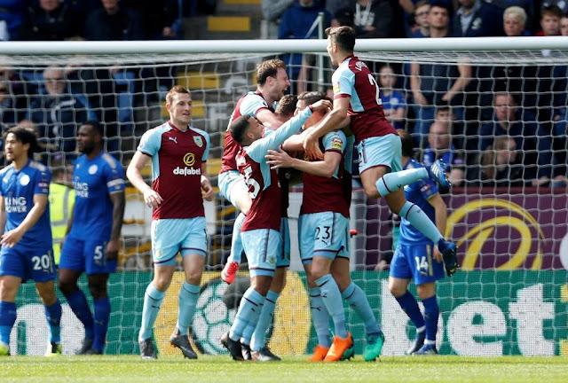 Video Cuplikan Gol Burnley 2-1 Leicester City I Premier League Pekan Ke-34