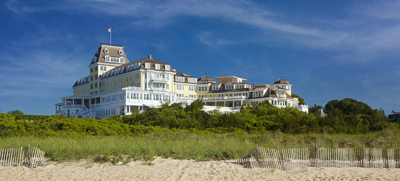 10 Of The Most Beautiful Hotels In America That Deserve A Spot On Your Travel Bucket List - Ocean House, Watch Hill, Rhode Island