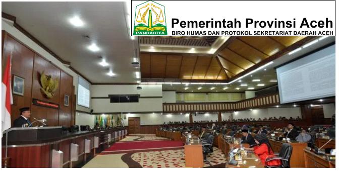 Pemerintah Aceh dan DPRA Sahkan APBA 2017