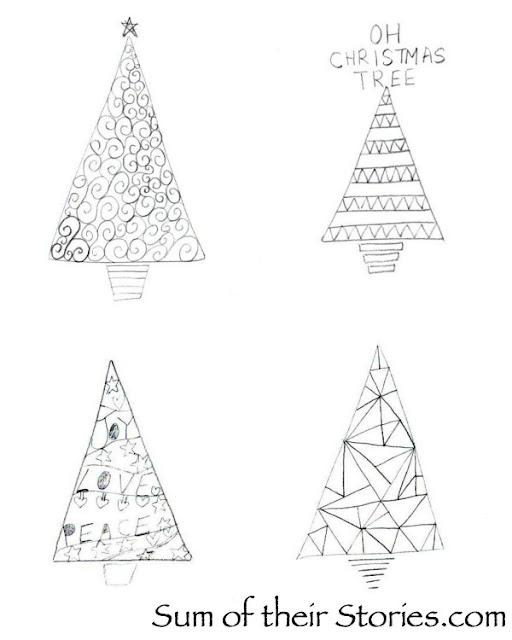 Papercut Christmas Tree ideas