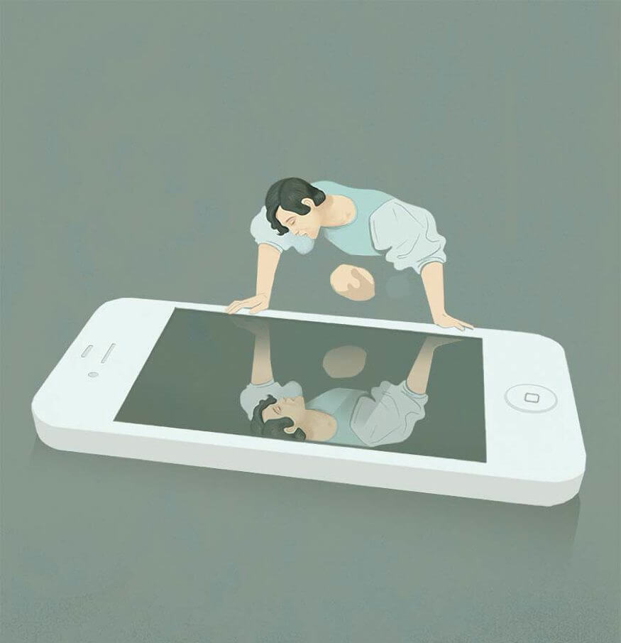 Intriguing Illustrations Depict The Harsh Truth About The Modern World