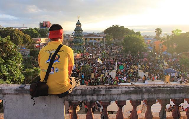 Marky Ramone Go in Ati-Atihan Festival