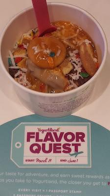 #Yogurtland: Flavor Quest 3.24-6.1.16