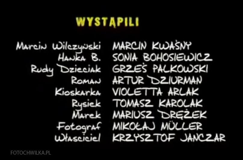 Kadr z filmu Rezerwat - obsada.