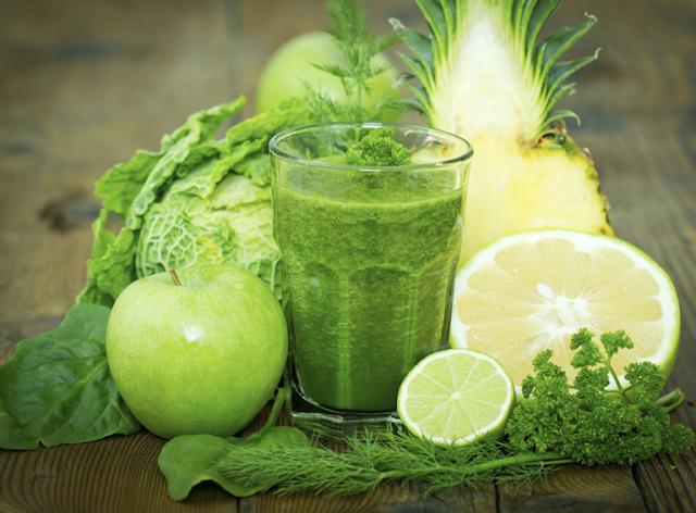 dieta verde para bajar de peso
