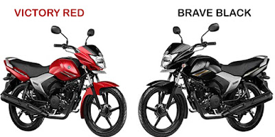 Yamaha Saluto 125cc two colour option