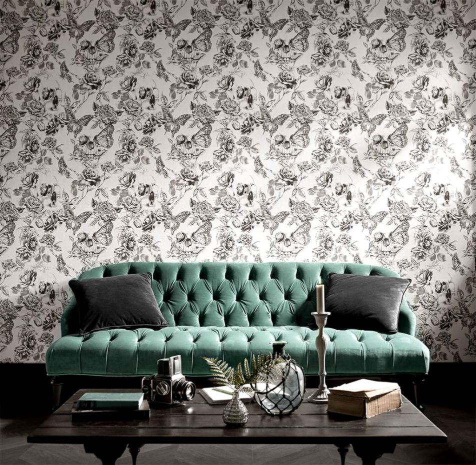 Cool Skull And Roses Wallpapers Wallpapers Sheet