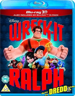 Wreck It Ralph (2012) Hindi Dual Audio 720p Blu-Ray 950MB