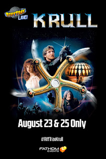 Rifftrax Krull in theaters August 2018