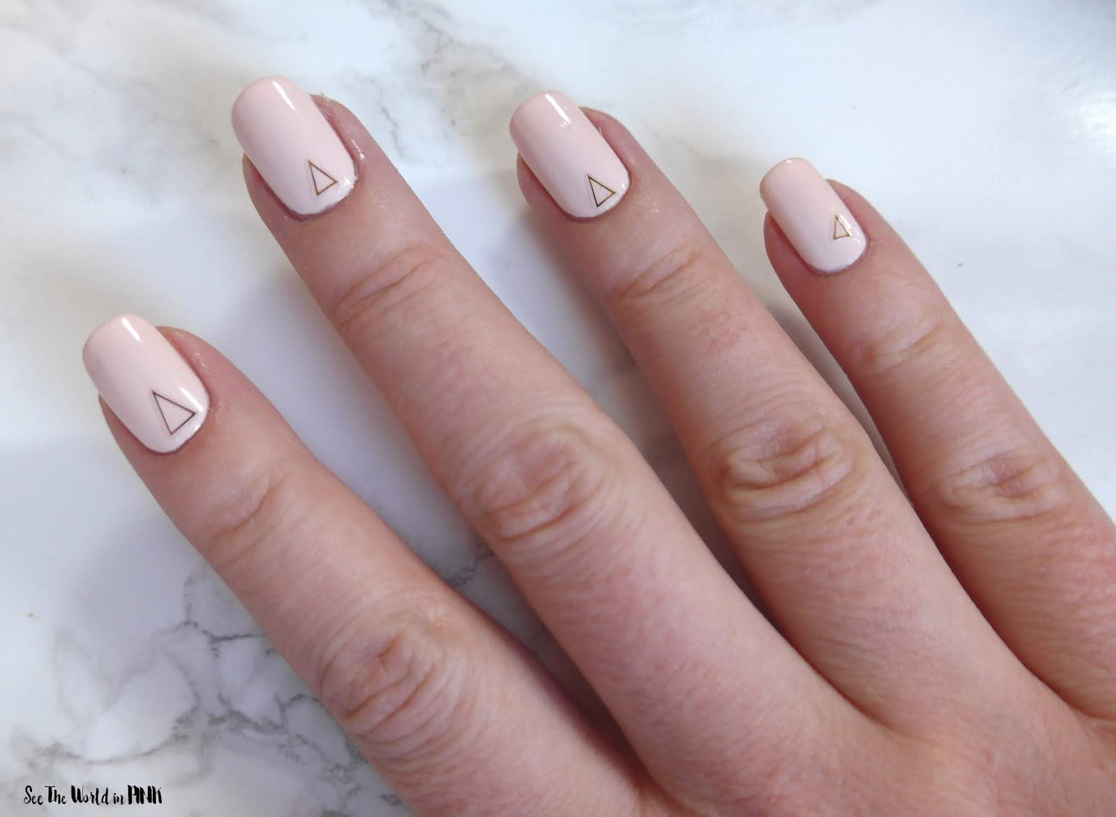 Manicure Monday - Simple Nude Nails