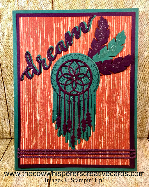 Card, Follow Your Dreams, Chase Your Dreams Framelits Dies, Dreamcatcher