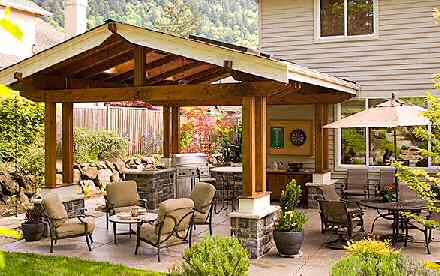 Husker dream homes six trends in deck and porch design - Covered outdoor living spaces ...