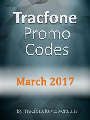 march 2017 tracfone promo code